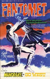 Cover Thumbnail for Fantomet (Semic, 1976 series) #1/1981