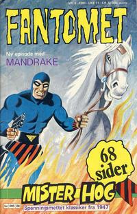 Cover Thumbnail for Fantomet (Semic, 1976 series) #6/1981