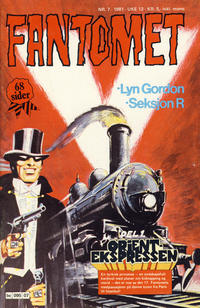 Cover Thumbnail for Fantomet (Semic, 1976 series) #7/1981
