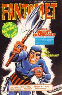 Cover Thumbnail for Fantomet (Semic, 1976 series) #8/1981