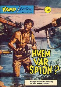 Cover Thumbnail for Kamp-serien (Serieforlaget / Se-Bladene / Stabenfeldt, 1964 series) #47/1971