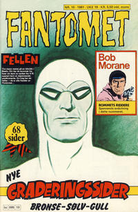 Cover Thumbnail for Fantomet (Semic, 1976 series) #10/1981