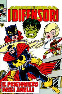 Cover Thumbnail for I Difensori (Editoriale Corno, 1979 series) #11