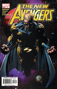Cover Thumbnail for New Avengers (Marvel, 2005 series) #3 [Direct Edition]