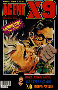 Cover Thumbnail for Agent X9 (Semic, 1976 series) #7/1993