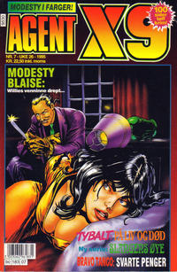 Cover Thumbnail for Agent X9 (Semic, 1976 series) #7/1995