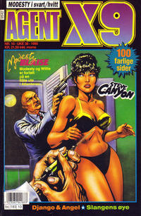 Cover Thumbnail for Agent X9 (Semic, 1976 series) #10/1995
