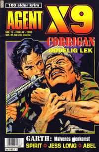 Cover Thumbnail for Agent X9 (Semic, 1976 series) #11/1995