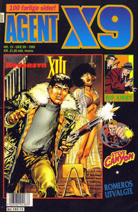 Cover Thumbnail for Agent X9 (Semic, 1976 series) #13/1995