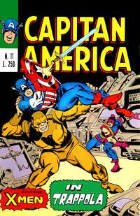 Cover Thumbnail for Capitan America (Editoriale Corno, 1973 series) #11