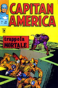 Cover Thumbnail for Capitan America (Editoriale Corno, 1973 series) #99