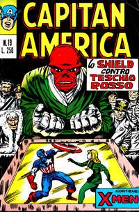 Cover Thumbnail for Capitan America (Editoriale Corno, 1973 series) #19