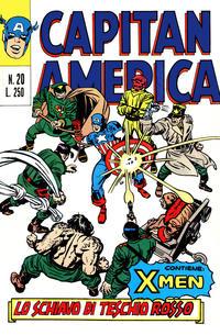 Cover Thumbnail for Capitan America (Editoriale Corno, 1973 series) #20