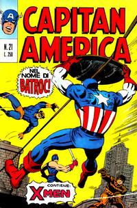 Cover Thumbnail for Capitan America (Editoriale Corno, 1973 series) #21