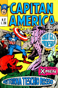 Cover Thumbnail for Capitan America (Editoriale Corno, 1973 series) #17