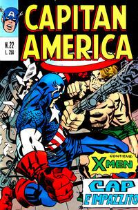 Cover Thumbnail for Capitan America (Editoriale Corno, 1973 series) #22