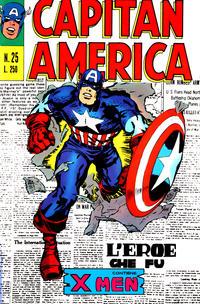 Cover Thumbnail for Capitan America (Editoriale Corno, 1973 series) #25