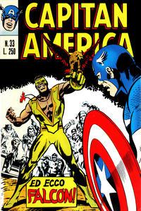 Cover Thumbnail for Capitan America (Editoriale Corno, 1973 series) #33