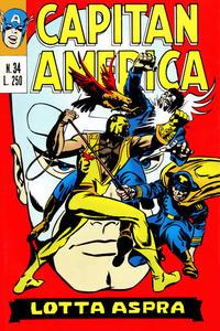 Cover Thumbnail for Capitan America (Editoriale Corno, 1973 series) #34