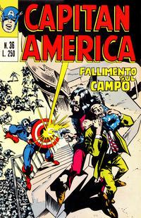 Cover Thumbnail for Capitan America (Editoriale Corno, 1973 series) #36