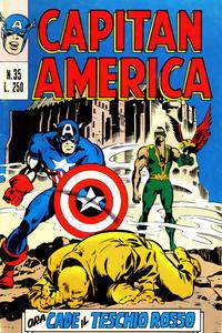 Cover Thumbnail for Capitan America (Editoriale Corno, 1973 series) #35