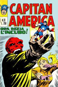 Cover Thumbnail for Capitan America (Editoriale Corno, 1973 series) #31