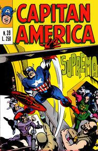 Cover Thumbnail for Capitan America (Editoriale Corno, 1973 series) #39