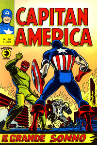 Cover Thumbnail for Capitan America (Editoriale Corno, 1973 series) #60