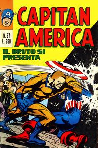 Cover Thumbnail for Capitan America (Editoriale Corno, 1973 series) #37