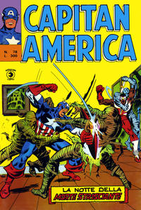 Cover Thumbnail for Capitan America (Editoriale Corno, 1973 series) #78