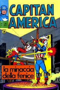 Cover Thumbnail for Capitan America (Editoriale Corno, 1973 series) #80
