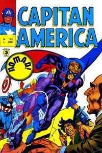 Cover Thumbnail for Capitan America (Editoriale Corno, 1973 series) #92