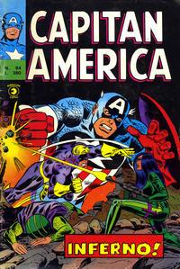 Cover Thumbnail for Capitan America (Editoriale Corno, 1973 series) #94