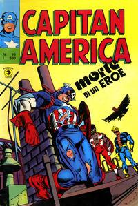 Cover Thumbnail for Capitan America (Editoriale Corno, 1973 series) #95