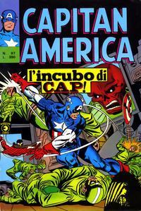 Cover Thumbnail for Capitan America (Editoriale Corno, 1973 series) #97