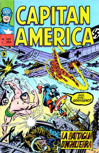 Cover Thumbnail for Capitan America (Editoriale Corno, 1973 series) #107