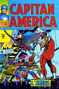 Cover Thumbnail for Capitan America (Editoriale Corno, 1973 series) #101