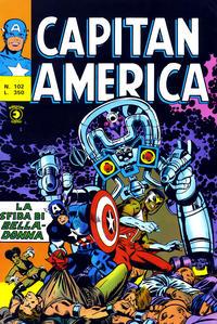 Cover Thumbnail for Capitan America (Editoriale Corno, 1973 series) #102