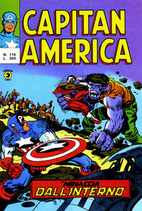 Cover Thumbnail for Capitan America (Editoriale Corno, 1973 series) #116
