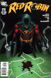 Cover Thumbnail for Red Robin (DC, 2009 series) #23
