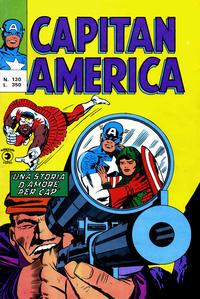 Cover Thumbnail for Capitan America (Editoriale Corno, 1973 series) #120