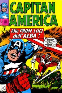 Cover Thumbnail for Capitan America (Editoriale Corno, 1973 series) #122