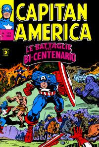 Cover Thumbnail for Capitan America (Editoriale Corno, 1973 series) #123