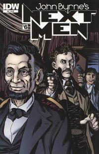 Cover Thumbnail for John Byrne's Next Men (IDW, 2010 series) #6 [Regular Cover]