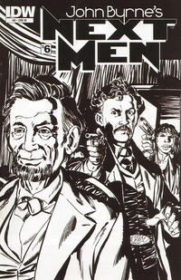 Cover Thumbnail for John Byrne's Next Men (IDW, 2010 series) #6 [RI Cover]