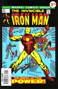 Cover Thumbnail for Iron Man #47 Custom Comic (Marvel, 2009 series)