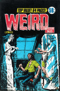 Cover Thumbnail for Weird Mystery Tales (K. G. Murray, 1972 series) #36