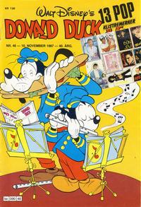 Cover Thumbnail for Donald Duck & Co (Hjemmet / Egmont, 1948 series) #46/1987