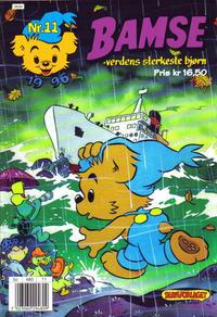 Cover Thumbnail for Bamse (Hjemmet, 1991 series) #11/1996