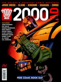 Cover Thumbnail for 2000 AD Free Comic-Book Day (Rebellion, 2011 series)